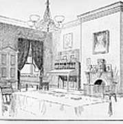 Lincoln: White House Office Art Print