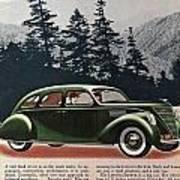 Lincoln Zephyr 1936 Art Print