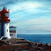 Lindesnes Lighthouse Art Print