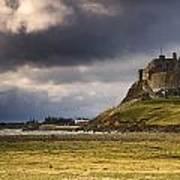 Lindisfarne Castle, Beblowe Crag Art Print