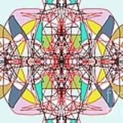 Linear Array Art Print