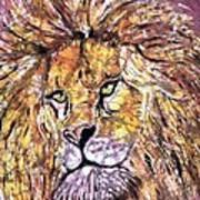 Lion1 Art Print