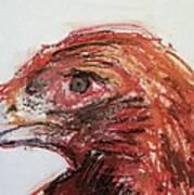 Lipstick Eagle Print by Iris Gill