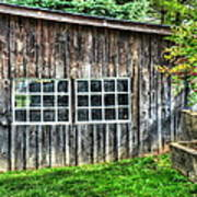 Little Brown Shed Art Print
