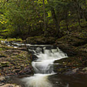 Little Carp River Falls 3 Art Print