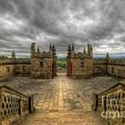 Little Castle Entrance - Bolsover Castle Art Print