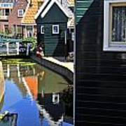 Little Dutch Houses Art Print