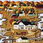 Little Falls Market Art Print