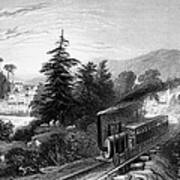 Little Falls: Railroad Art Print