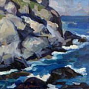 Little Maine Seascape Art Print