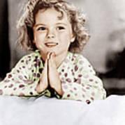 Little Miss Marker, Shirley Temple, 1934 Art Print