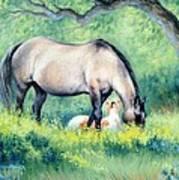 Little Paint II Art Print