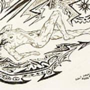 Live Nude Female No. 35 Art Print