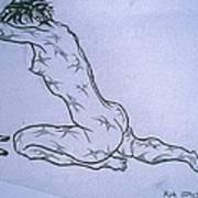 Live Nude Female No. 51 Art Print