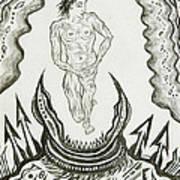 Live Nude Male No. 27 Art Print