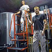 Live Oak Brewing Company Austin Texas Art Print by Gregg Hinlicky