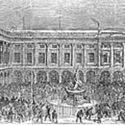Liverpool Exchange, 1854 Art Print