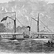 Livingstone: Steam Launch Art Print by Granger