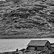 Loch Arklet Boathouse Art Print