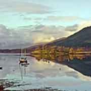 Loch Leven Moorings Art Print