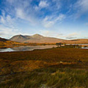 Lochan Nah Achlaise And Black Mount Art Print