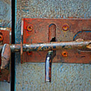 Lock And Latch Art Print