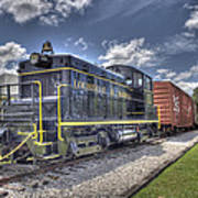 Locomotive II Art Print