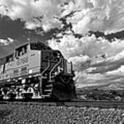 Locomotive To The Sky  Art Print