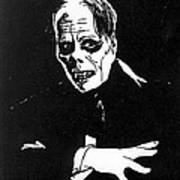 Lon Chaney As The Phantom Art Print