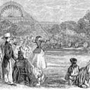 London: Archery, 1859 Art Print