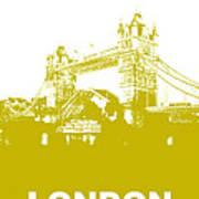 London Bridge Poster Art Print