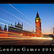 London Games 2012 Art Print