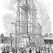 London: Nelson Column, 1845 Art Print
