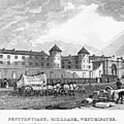 London: Prison, 1829 Art Print