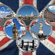 London Scenes Art Print