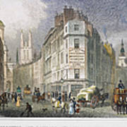 London: Street Scene, 1830 Art Print