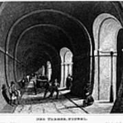 London: Thames Tunnel Art Print