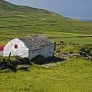 Lone Farmhouse On Mizen Head In West Art Print