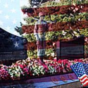 Lone Soldier Memorial Art Print