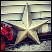 Lone Star Texas Art Print