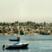 Lonely Boat Art Print