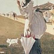 Long Branch Print by Winslow Homer