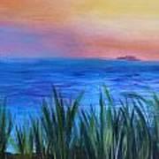 Long Island Sound Sunset Art Print