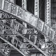 Longfellow Bridge Arches V Art Print