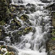 Longfellow Grist Mill Waterfall Art Print