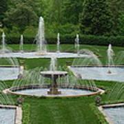 Longwood Fountains 3 Art Print