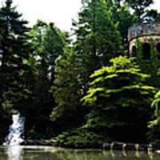 Longwood Garden Castle Art Print