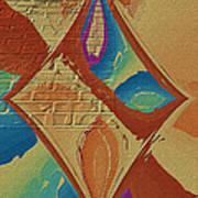 Look Behind The Brick Wall Art Print by Deborah Benoit