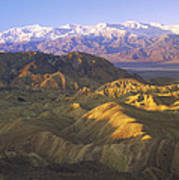 Looking At Panamint Range Art Print by Tim Fitzharris