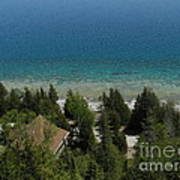 Looking Down On Dyers Bay Art Print